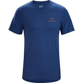 Arc'teryx Emblem SS T-Shirt Men hubble heather
